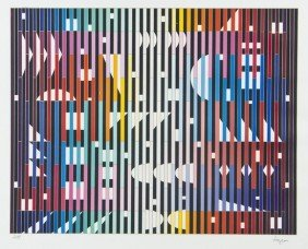 Yaacov Agam (b.1928) Untitled