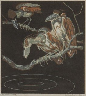 Norbertine Bresslern-Roth (1891-1978) Shoebills
