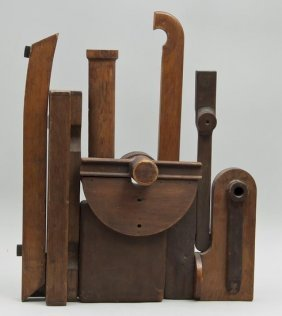 Norman Sumner Green (1921-2006) Assemblage In Wood