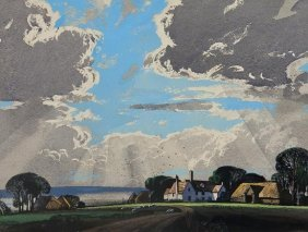 Rowland Hilder OBE PRI (1905-1993) Silver Linings