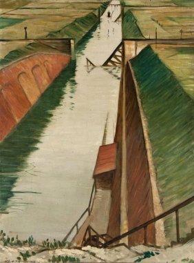 Christopher Richard Wynne Nevinson (1889-1946) Des