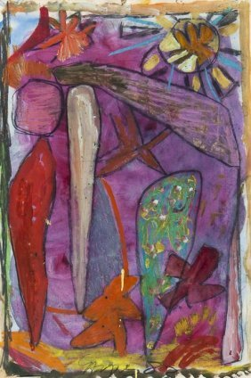 Gillian Ayres (b.1930) Untitled (Landscape)