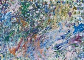 Gillian Ayres (b.1930) Abstract Composition
