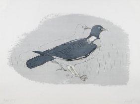 Elisabeth Frink (1930-1993) Wood Pigeon (W.21)