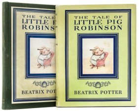 Potter (Beatrix) The Tale Of Little Pig Robinson