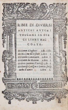 Dante Alighieri (et Al). - Rime Di Diversi Antichi