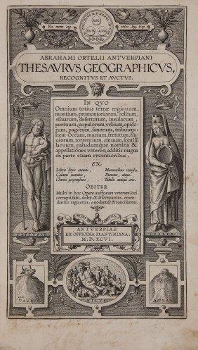 Ortelius (abraham) - Thesaurus Geographicus,