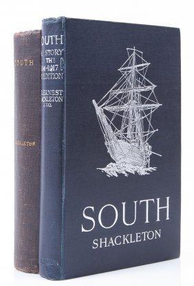 Shackleton - South, Reprint, Plates, Folding Map,