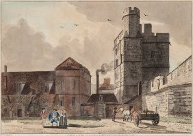 Berkshire.- Sandby (paul) - Windsor Castle From The