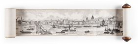 Azulay (bondy) - Grand Panorama Of London And The River