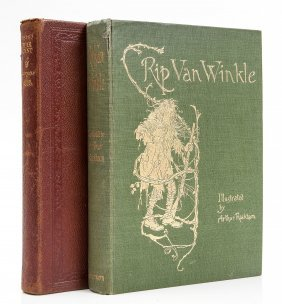 Rackham (arthur).- Irving (washington) - Rip Van