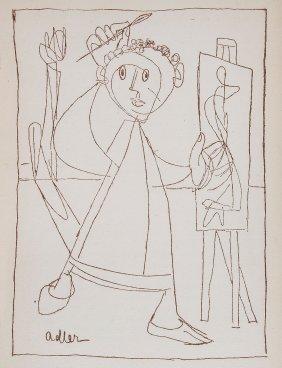 Themerson (stefan) - Jankel Adler, And Artist Seen From