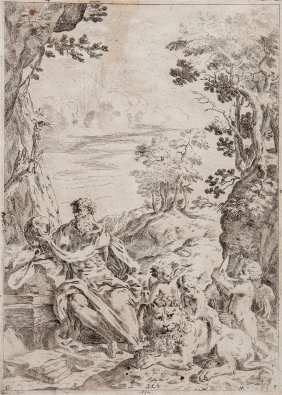 Giovanni Francesco Mucci (1621-1665) - St Jerome,
