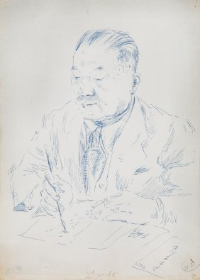 China.- Beaton (cecil) - Portrait Of Dr H.h. Kung,