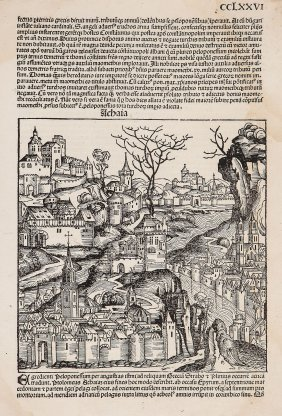 Greece.- Nuremberg Chronicle. - Achaia,