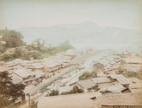 Japanese Photograph Album.- - Album Of 50 Photographs,