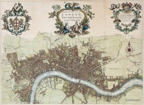 Strype (john) - A New Plan Of The City Of London,