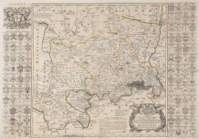 -. Seale (richard William) - Map Of The County Of