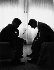 Hank Walker (1921-1996) - John F. Kennedy And Robert F.