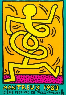 Haring, Keith After (1958-1990) - Montreux Jazz