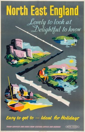 Nevin - North East England, British Railways