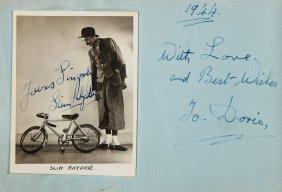 Autograph Album - Entertainers, C. 1940s - Autograph