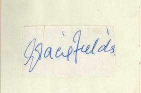 Autograph Album - Incl. Gracie Fields - Autograph Album