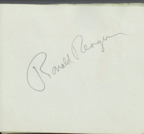 Autograph Albums - Actors & Entertainers - Two