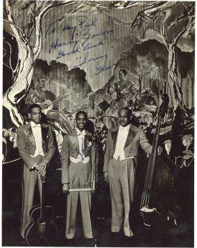 Greer, Sonny - Black And White Full Length Photograph