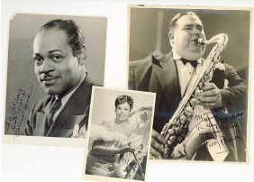 Jazz Musicians - Incl. Teddy Brown - Group Of Vintage,