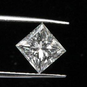 Gia Cert 0.69 Ctw Princess Diamond I/vvs2