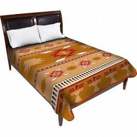 Brown Native American Blanket