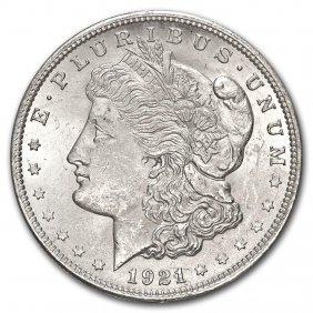 1921 Morgan Dollar Bu