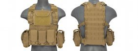 Tan Chest Vest And Holster