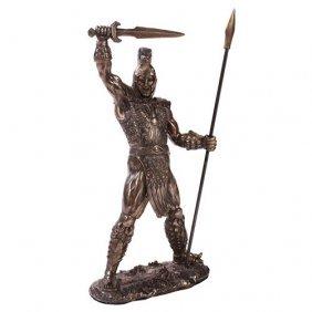 Achilles Cold Cast Bronze Statue
