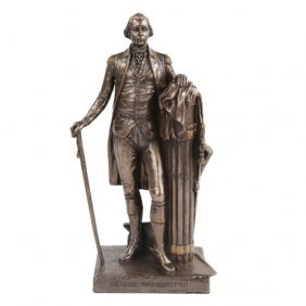 George Washington Cold Cast Bronze Statue