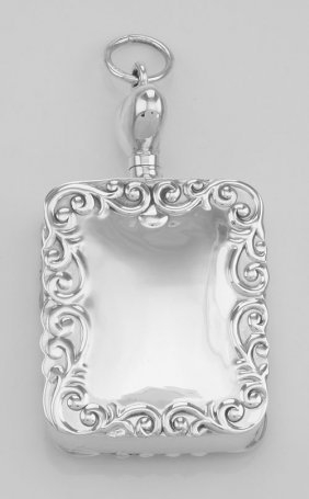 Heart Top Perfume Bottle Or Memorial Ash Pendant Engrav