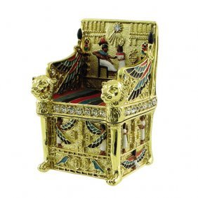 King's Throne Jeweled Box