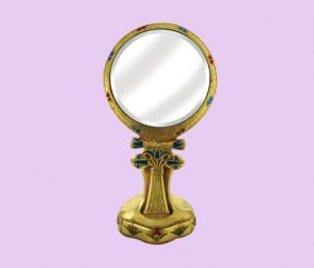 Hand Mirror W/ Stand