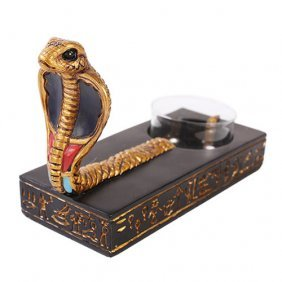 Egyptian Cobra Candle Holder