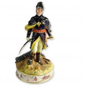"Royal Doulton Porcelain Figurine ""duke Of Wellington"""