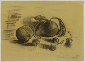 Emile Henri Bernard, French (1868-1941) Charcoal On