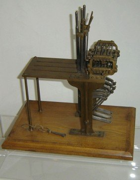 Rare Model 3 Lever Mechanical Interlocking Machine