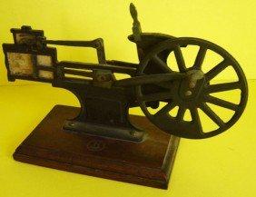Knott Cutaway Steam Engine Salesman Sample