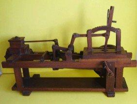 Vintage Wood Valve Gear  Model