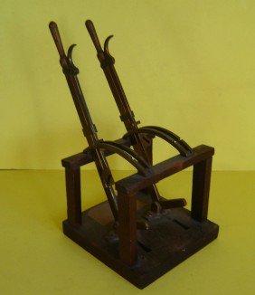 Vintage Wood Signalmen Switch Model