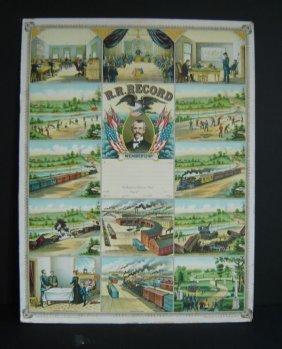 1902 R.R. Record Litho
