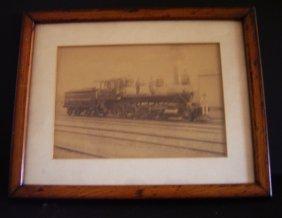 """Framed Vintage LocomotiveSchenectady No. 68  """"1883"""