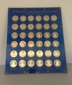 Presidential Sterling Silver Commemorative Medals