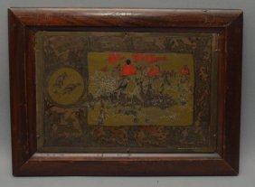 George Rutledge Fox Hunting Plaque